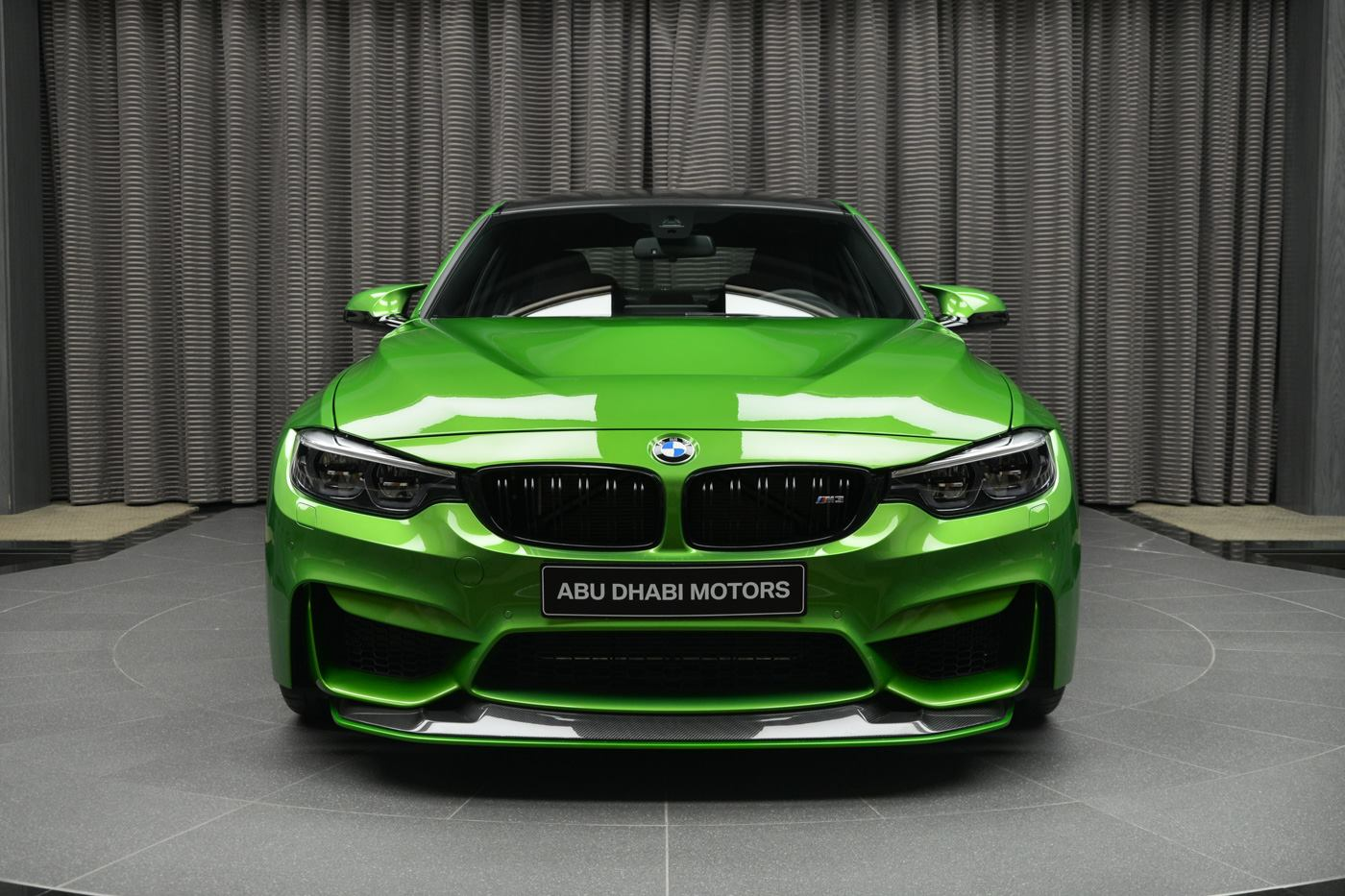 Java Green BMW M3 Dripping In M Performance Parts Looks Glorious