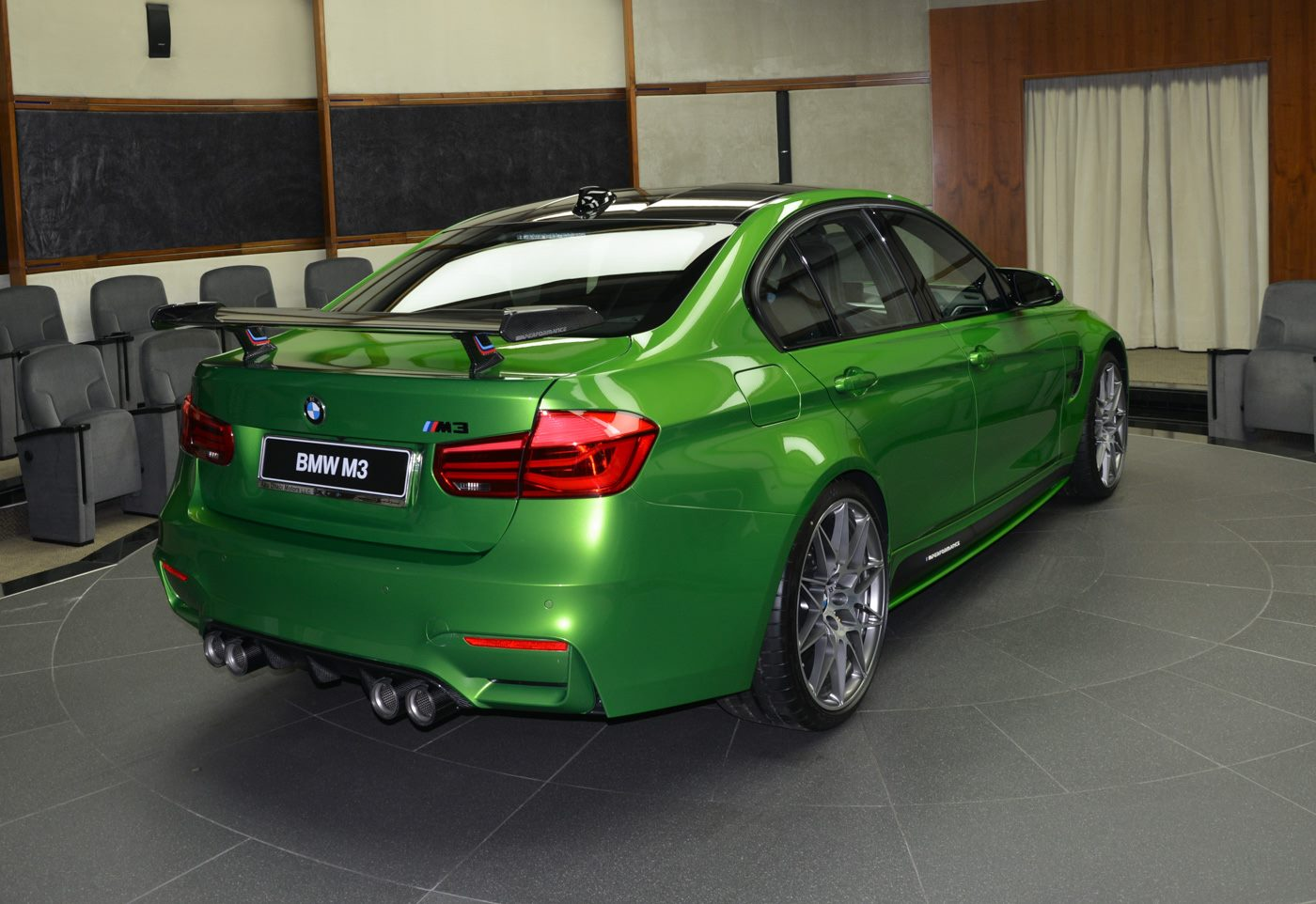Bmw Abu Dhabi M Java Green