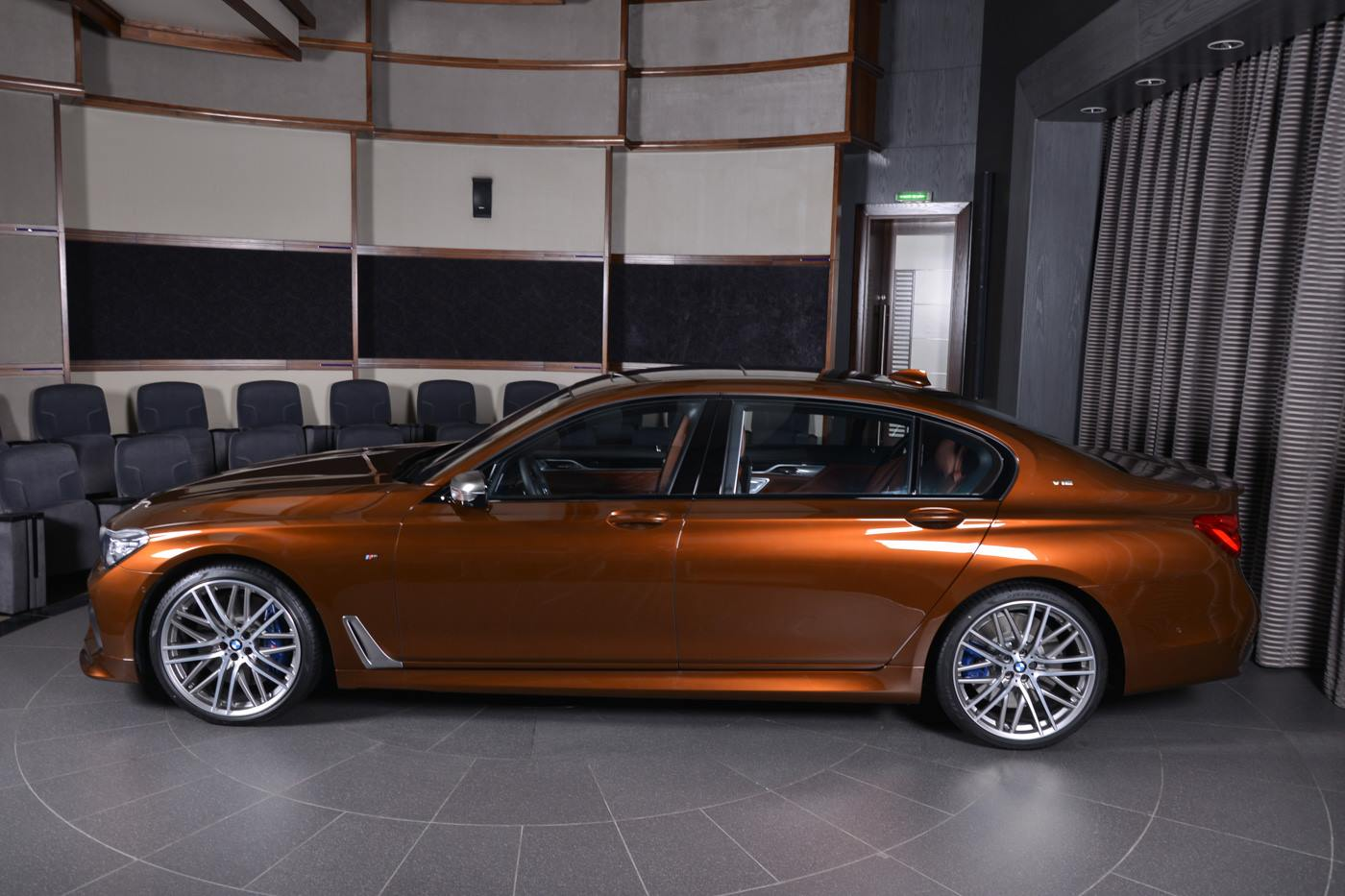 Chestnut Bronze Bmw M760li Xdrive Looks Rather Classy