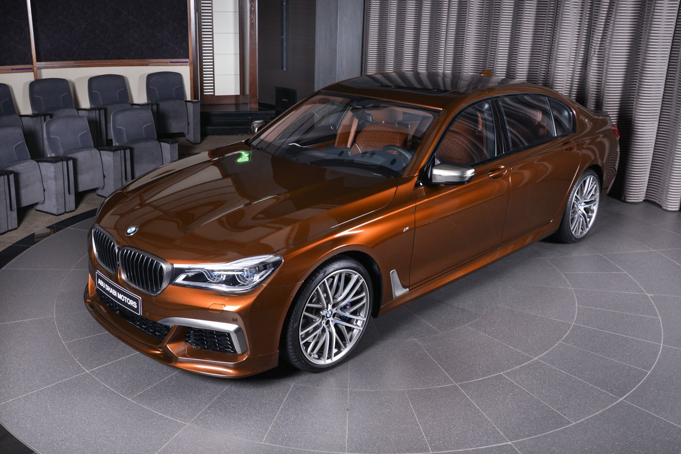 chestnut bronze bmw m760li xdrive looks rather classy. Black Bedroom Furniture Sets. Home Design Ideas