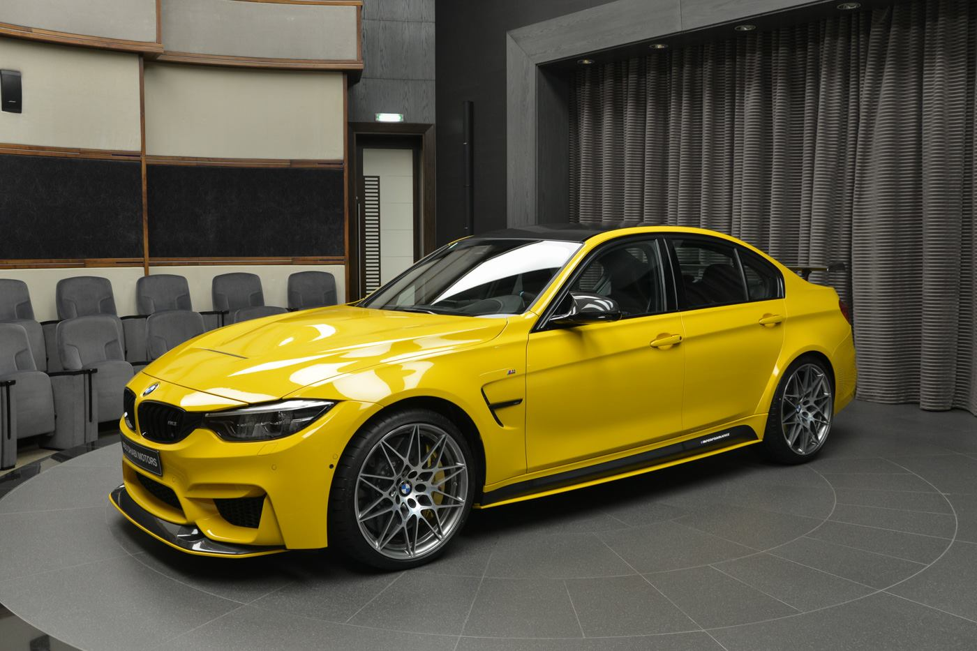 Speed Yellow Bmw M3 Gets All The Bells And Whistles