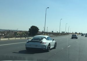 white porsche 991 gt3 rs south africa