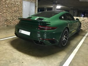 pts porsche turbo s irish green south africa