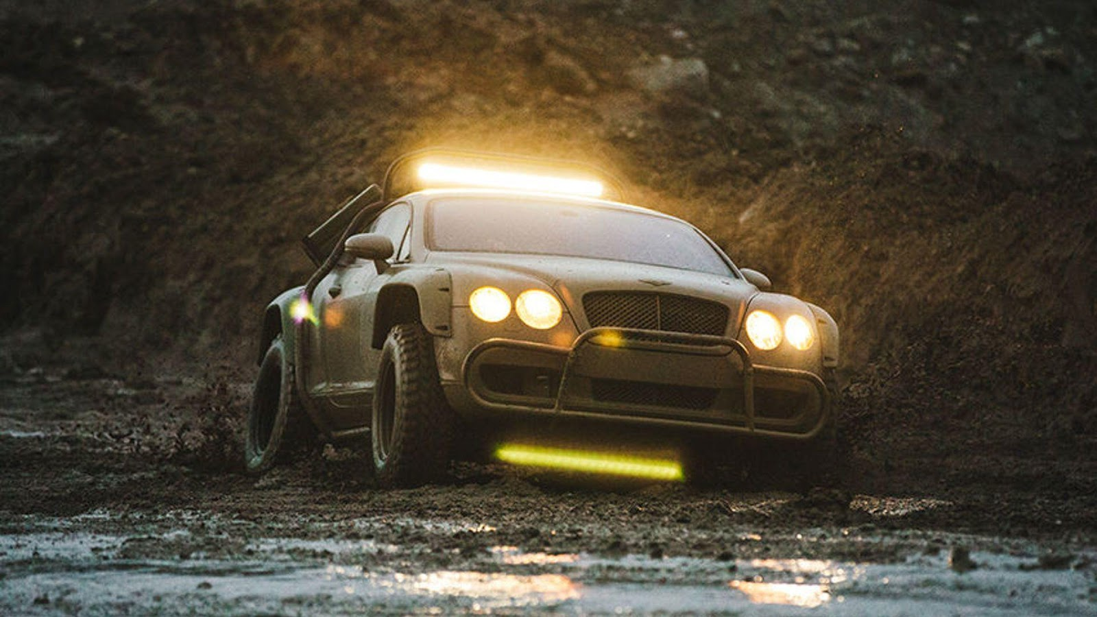 Build A Jeep >> Custom Dakar-Inspired Off-Road Bentley Continental GT Sold