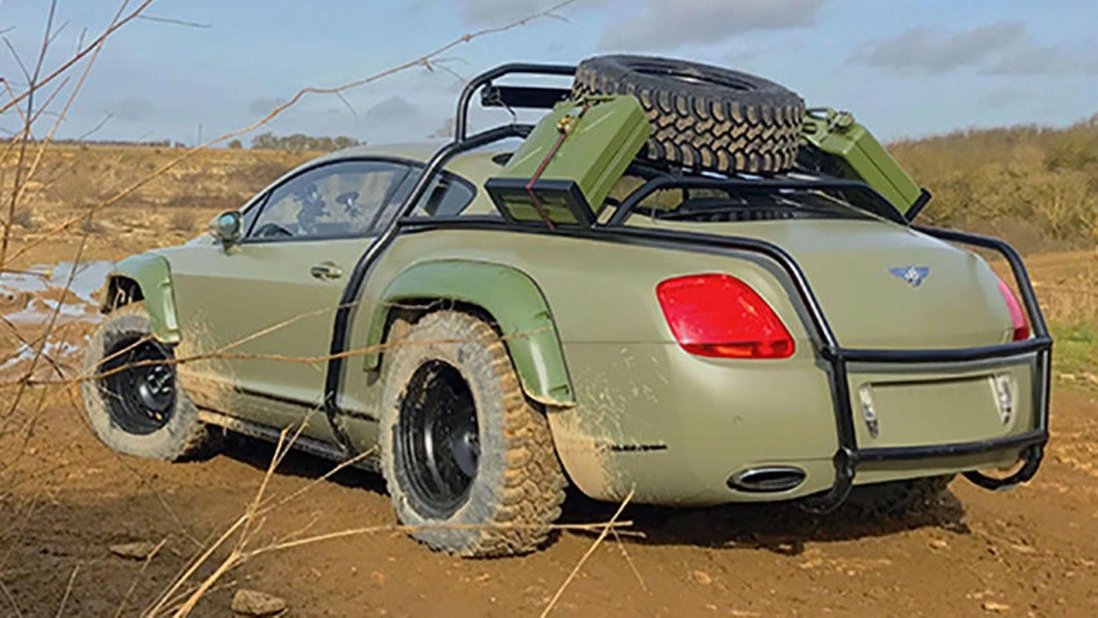 Custom Dakar Inspired Off Road Bentley Continental Gt Sold