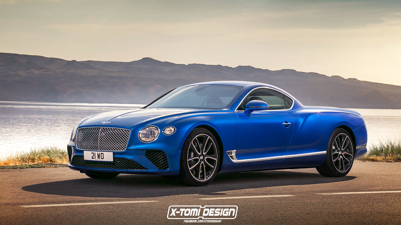 2017 Bentley Continental Gt Convertible >> New Bentley Continental GT Shooting Brake, Pickup and Convertible Rendered