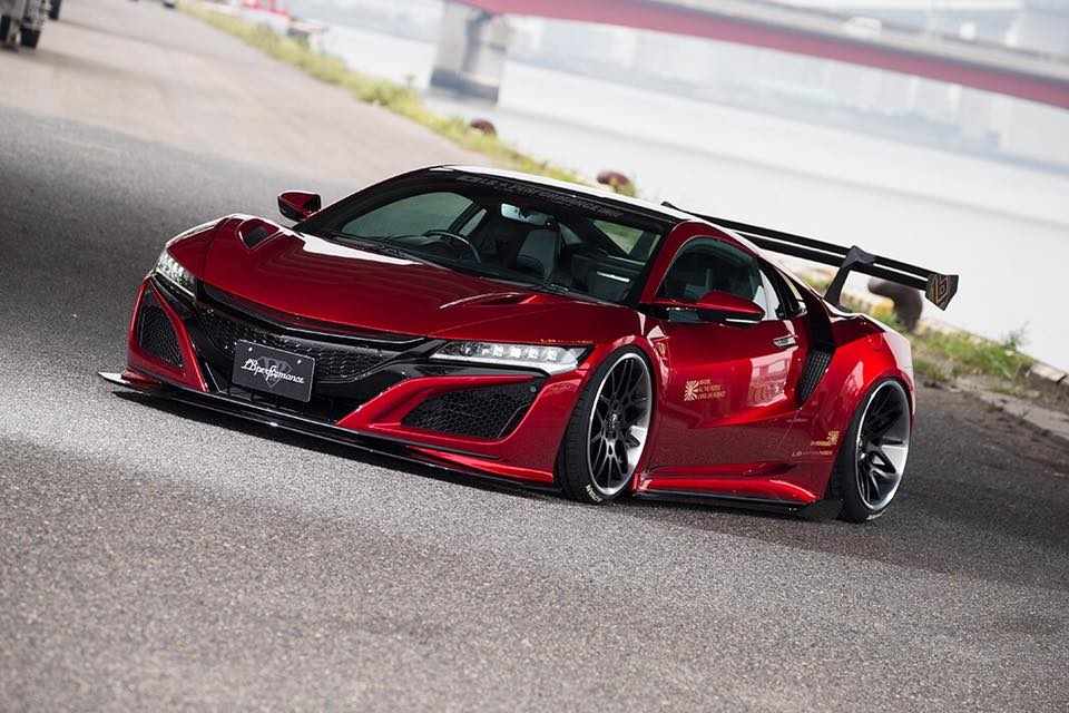 Liberty Walk Reveal Their Honda NSX