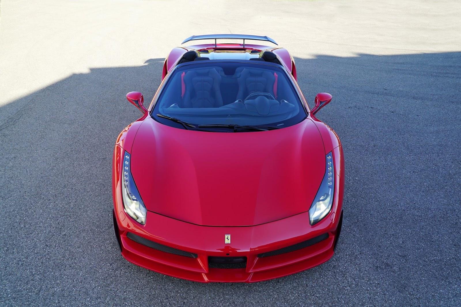 Novitec Reveal 760 Hp Ferrari 488 Spider N Largo