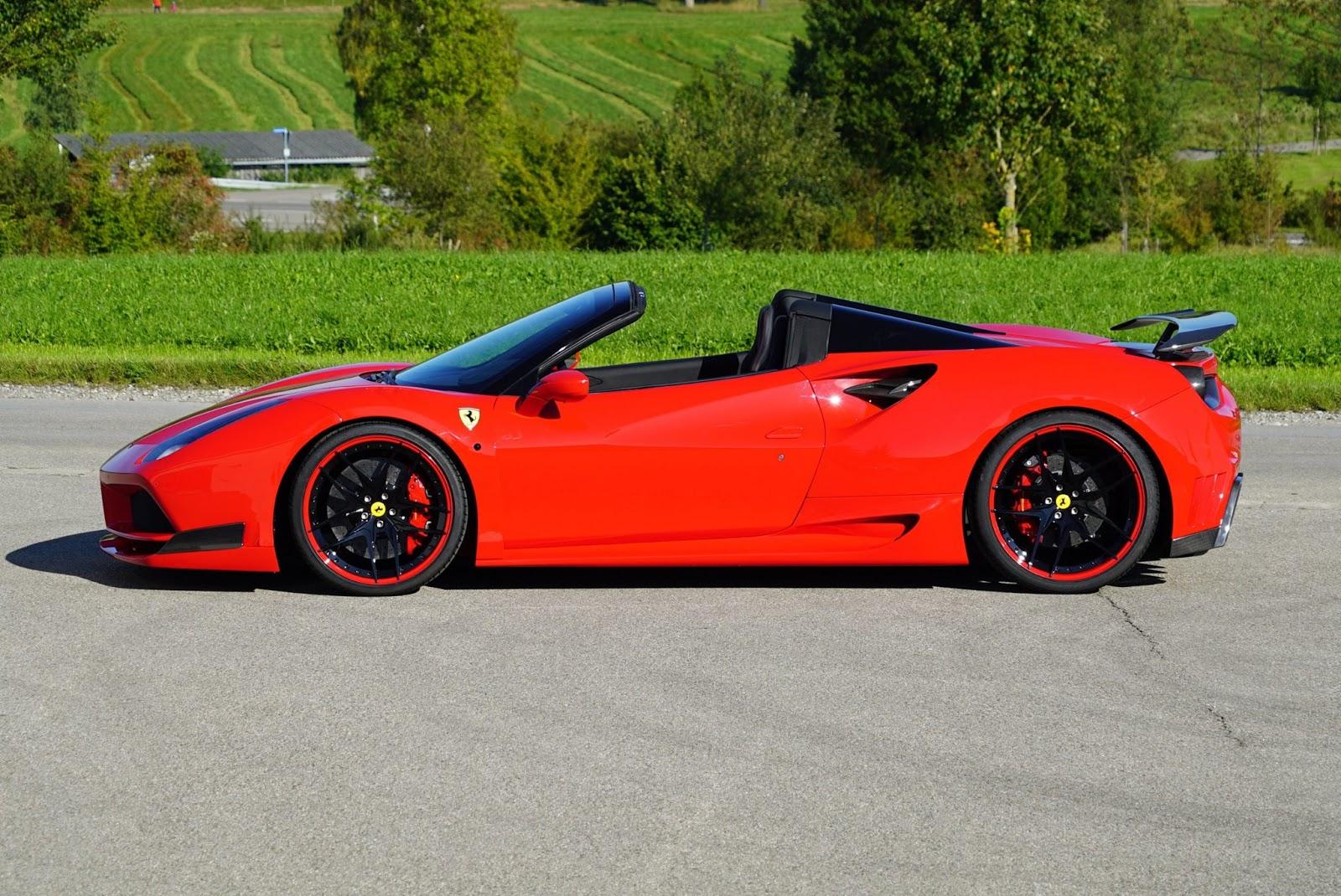 Ferrari 488 Spider Ferrari Com >> Novitec Reveal 760 HP Ferrari 488 Spider N-Largo