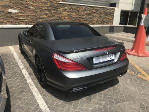 matte grey mercedes sl65 amg south africa