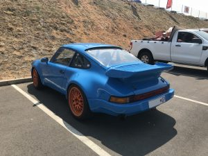 racing porsche smurf blue south africa
