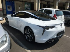 lexus lc500 south africa