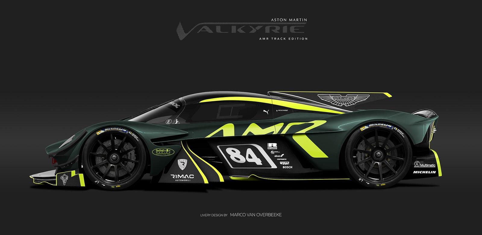 Rendering Of Track Only Version Of The Aston Martin