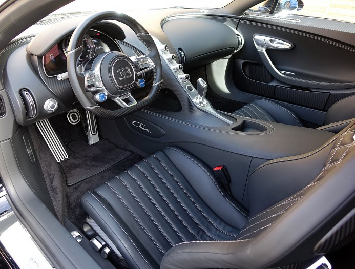 Nocturne Black Bugatti Chiron For Sale In Uk