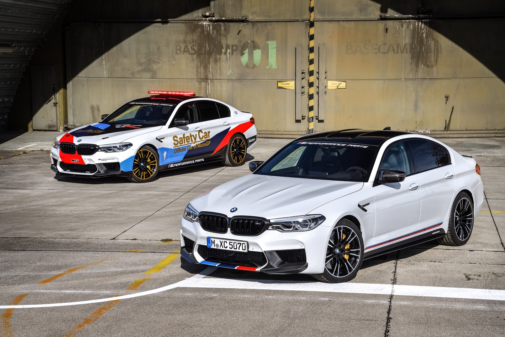 Race Car For Sale >> BMW Show Off New M5 With M Performance Parts As MotoGP ...