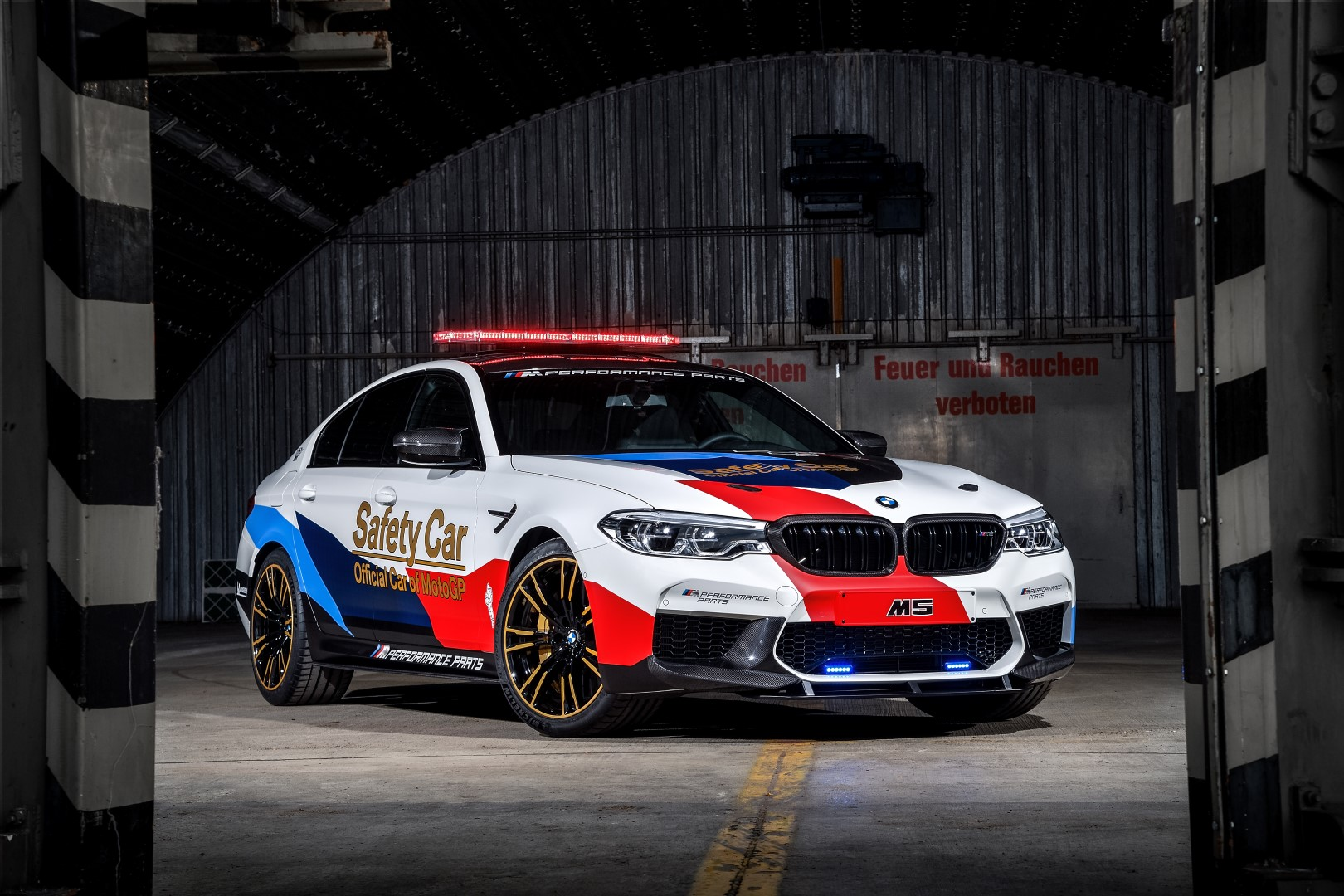 Bmw Show Off New M5 With M Performance Parts As Motogp