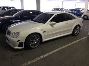 mercedes clk63 amg black series south africa