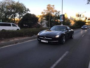 mercedes sls amg roadster south africa