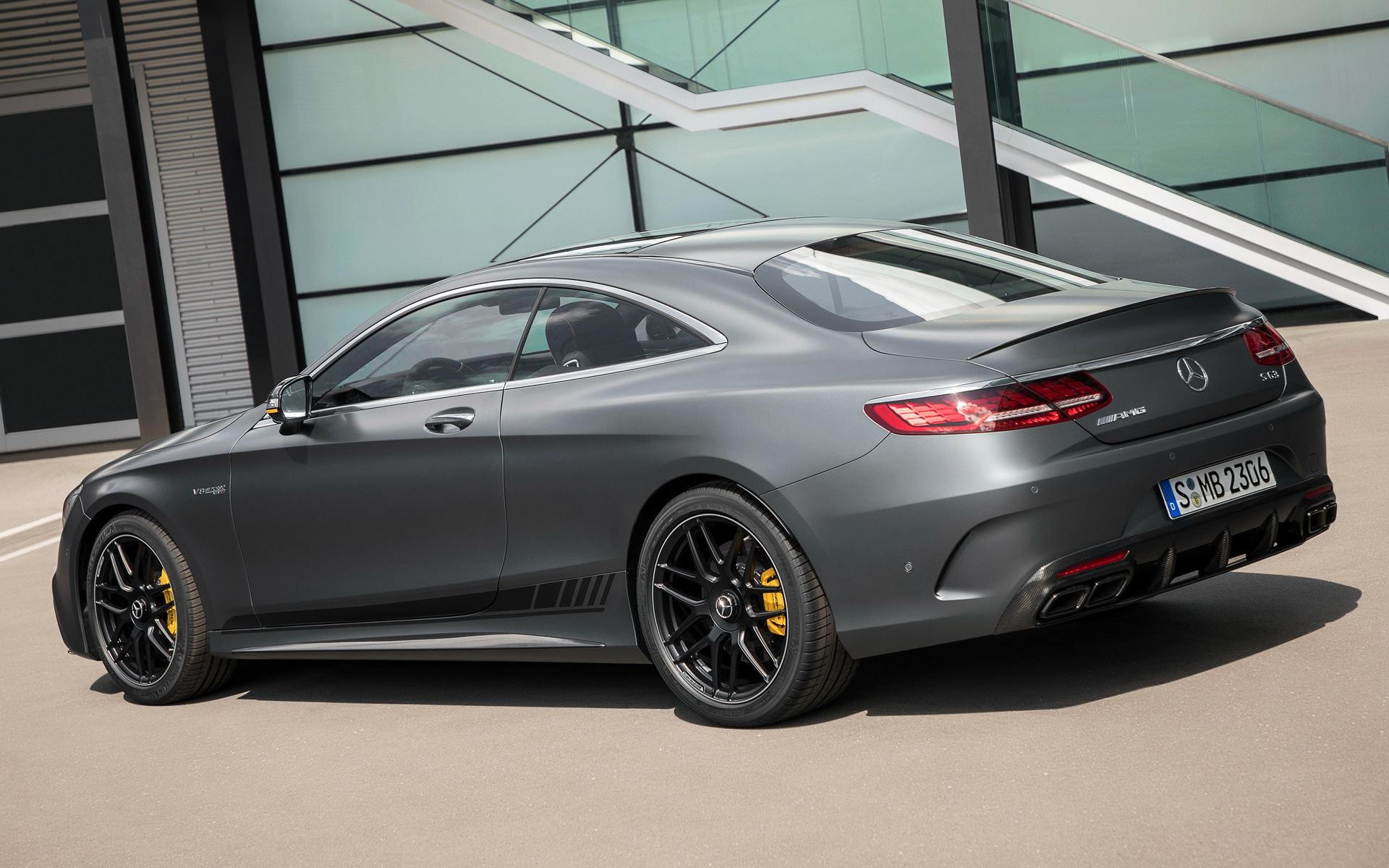 Mercedes Amg S63 Coupe Yellow Night Edition 4 Zero2turbo