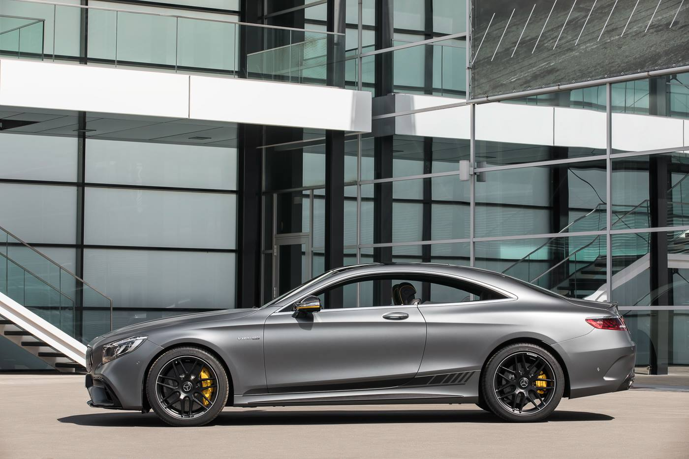 Check Out The Mercedes Amg S63 Coupe Yellow Night Edition