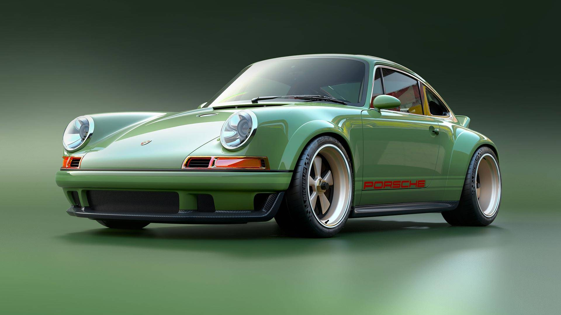Build A Dodge >> Sensationally Sexy Singer Porsche 911 With 500 HP Williams Engine