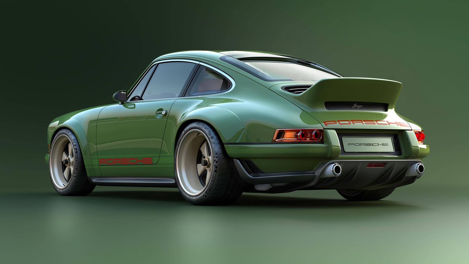 Sensationally Sexy Singer Porsche 911 With 500 Hp Williams