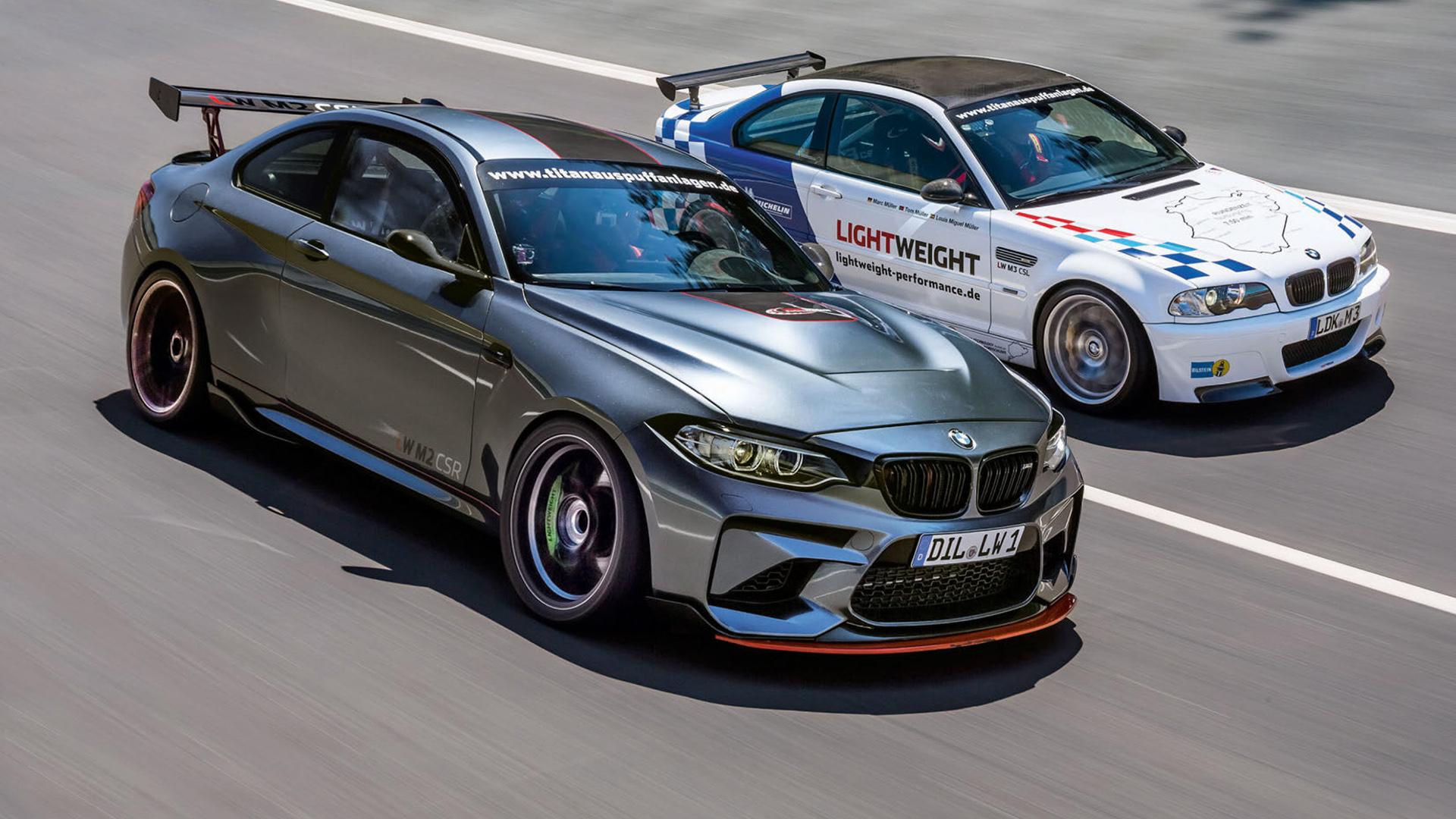 Lightweight Performance Bmw M2 Csr Fastest Bmw Ever Around The Sachsenring