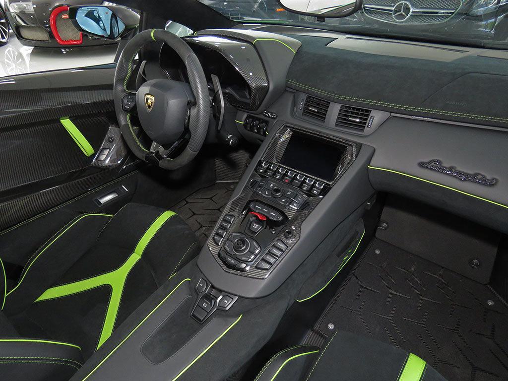 Verde Mantis Lamborghini Aventador Sv Roadster Is A Thing Of Beauty