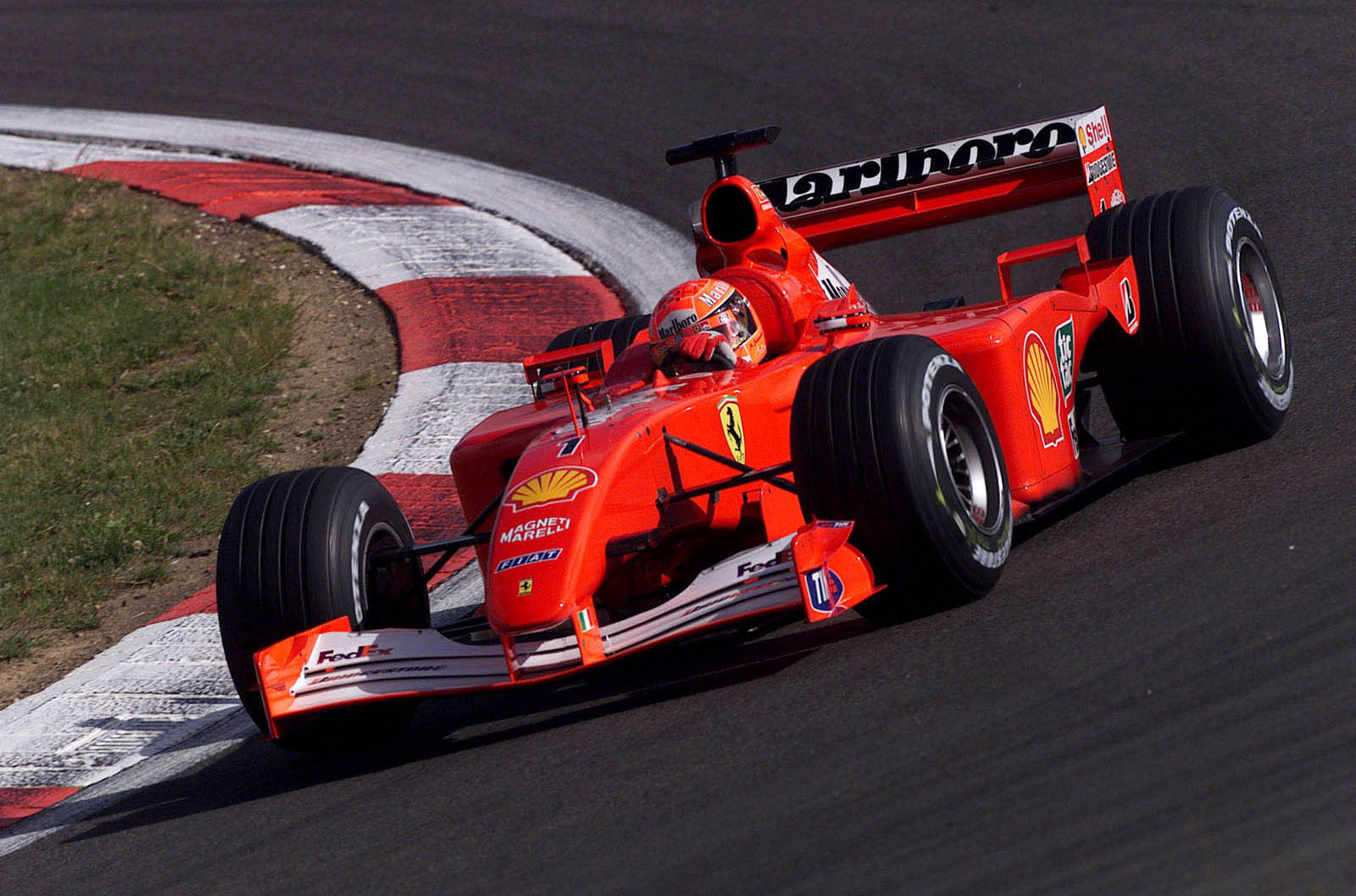 ex schumacher ferrari f1 car sells for r105 million at auction. Black Bedroom Furniture Sets. Home Design Ideas