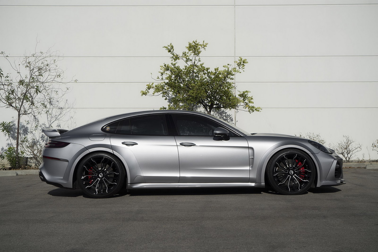 New Porsche Panamera Sports TechArt Kit And Forgiato Wheels