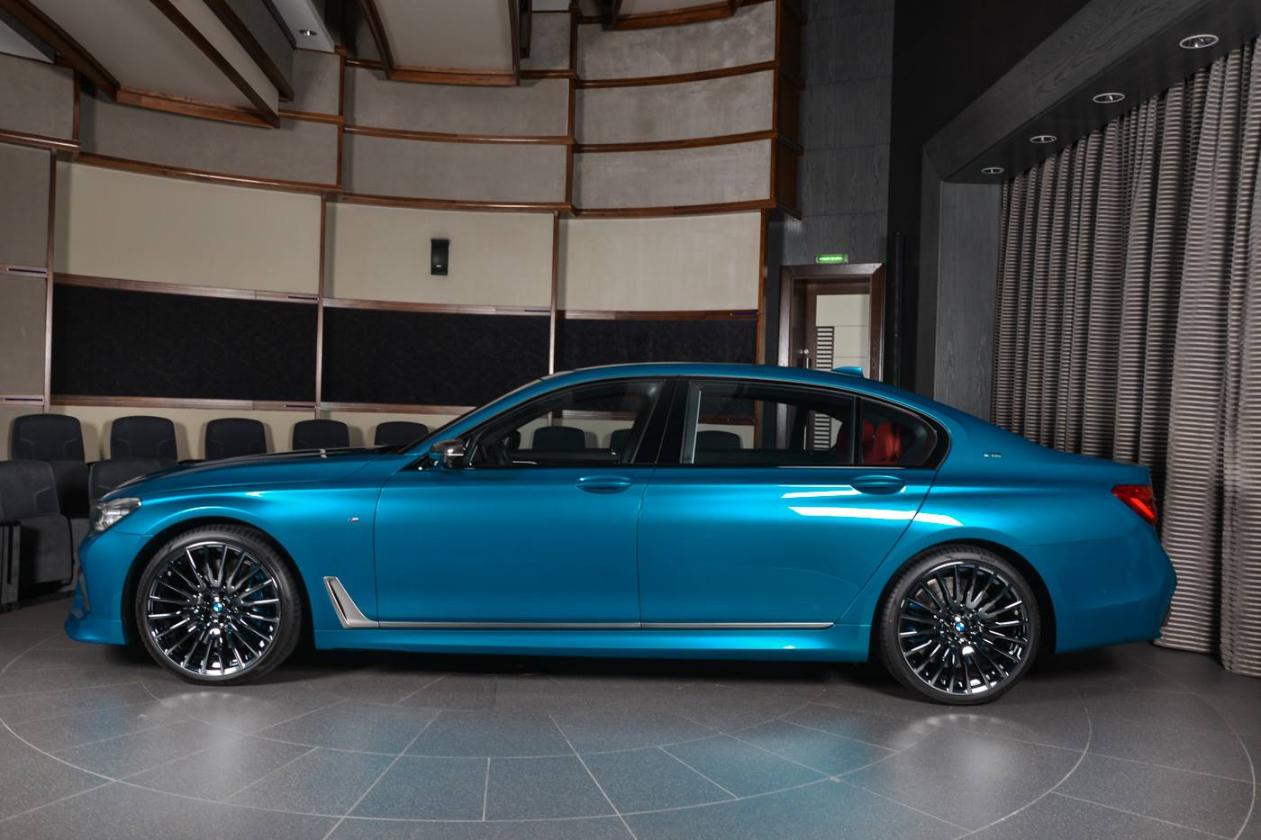3d Design Equipped Long Beach Blue Bmw M760li Is Brilliant