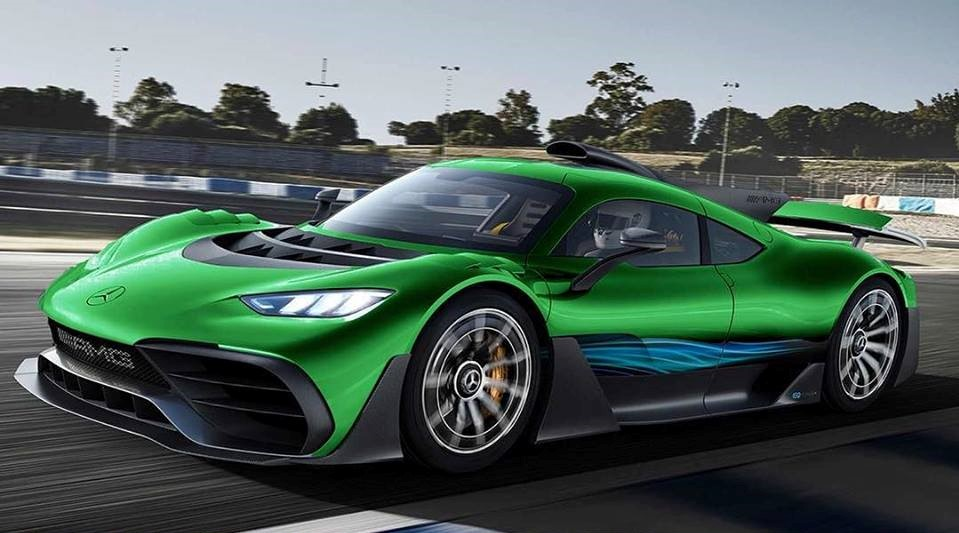 Mercedes Amg Gt R >> Someone Is Selling Their Mercedes-AMG Project One Build ...