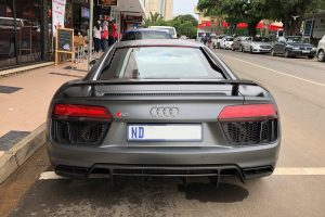 matte grey audi r8 v10 plus south africa