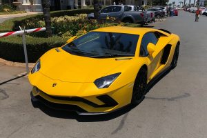 yellow lamborghini aventador s south africa