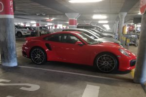 orange porsche turbo south africa