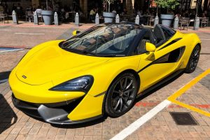 yellow mclaren 570s spider south africa