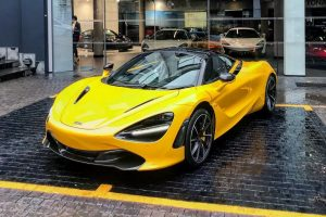volcano yellow mclaren 720s south africa