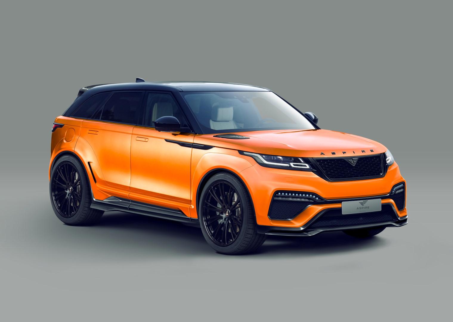Wide Body Hellcat >> Wide Body Range Rover Velar Thanks To Aspire Design