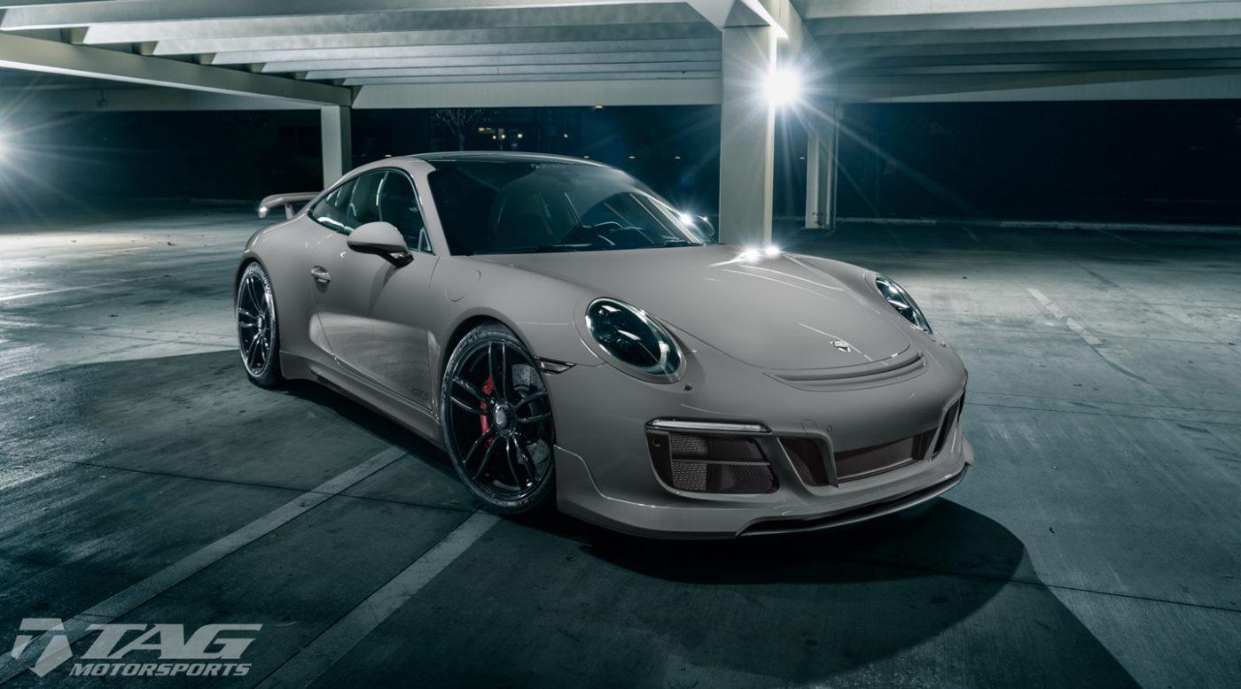 Porsche 991 2 Gts Lathered In Techart Goodies Looks Mega