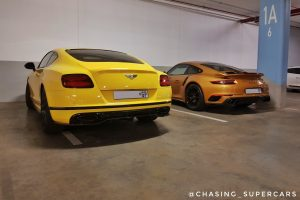 porsche turbo s exclusive edition bentley continental supersports south africa