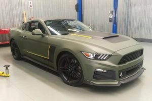 matte green ford mustang roush south africa