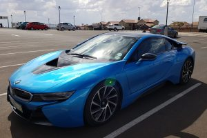 blue bmw i8 south africa