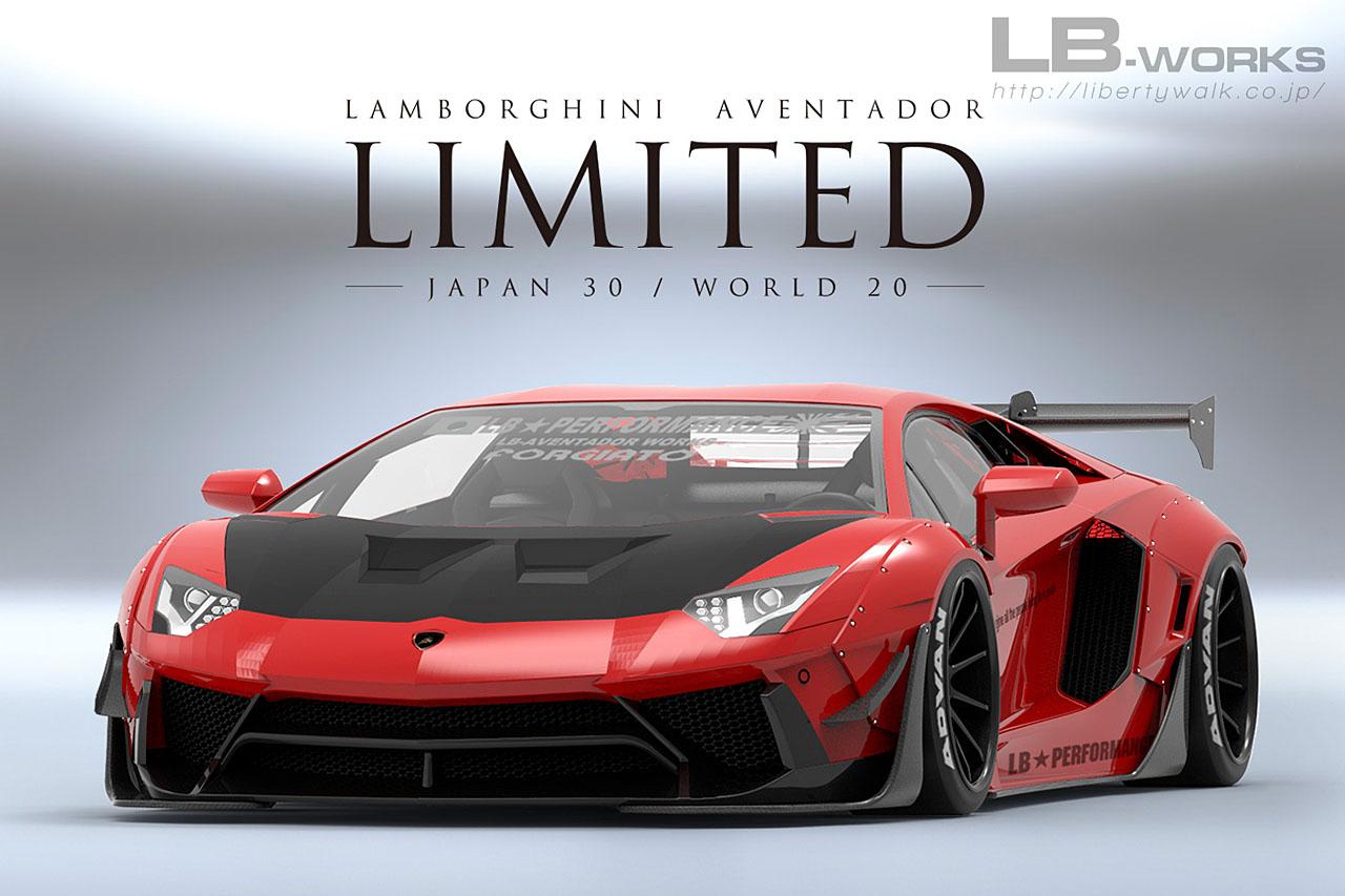Liberty Walk Limited Lamborghini Aventador Kit Is Wilder Than Ever