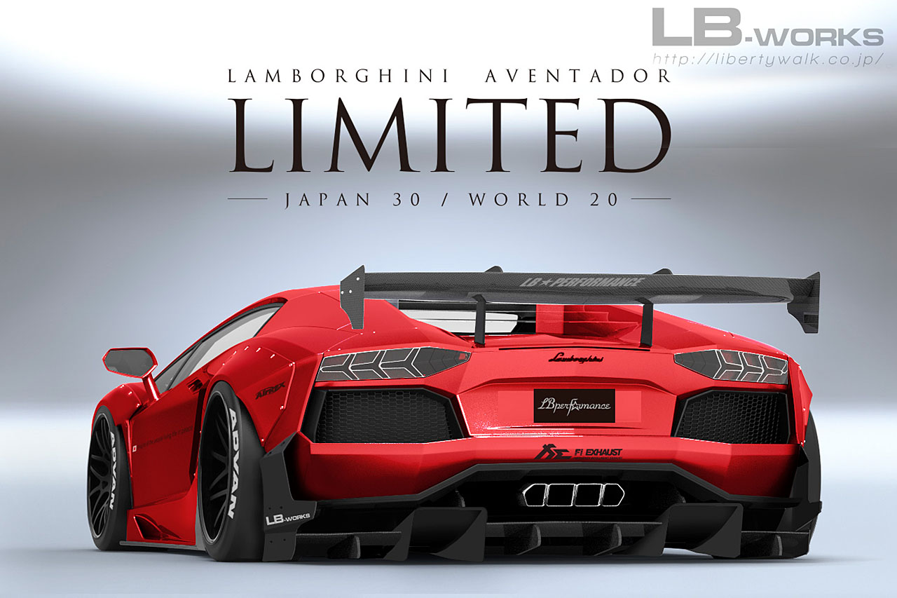 2018 Jeep Grand Cherokee Limited >> Liberty Walk Limited Lamborghini Aventador Kit Is Wilder Than Ever