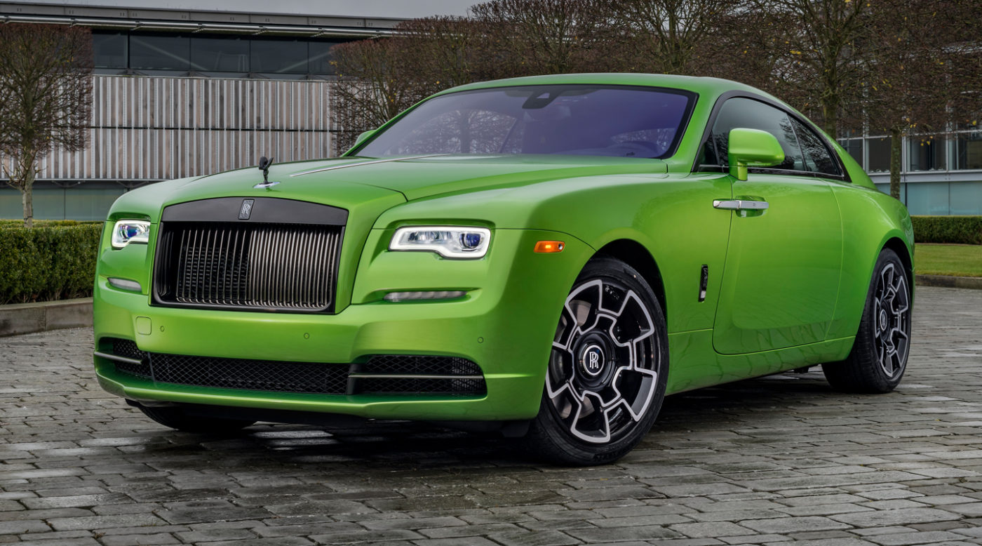 Rolls Royce Wraith For Sale >> Only Java Green Rolls Wraith Black Badge In The World Up For Sale