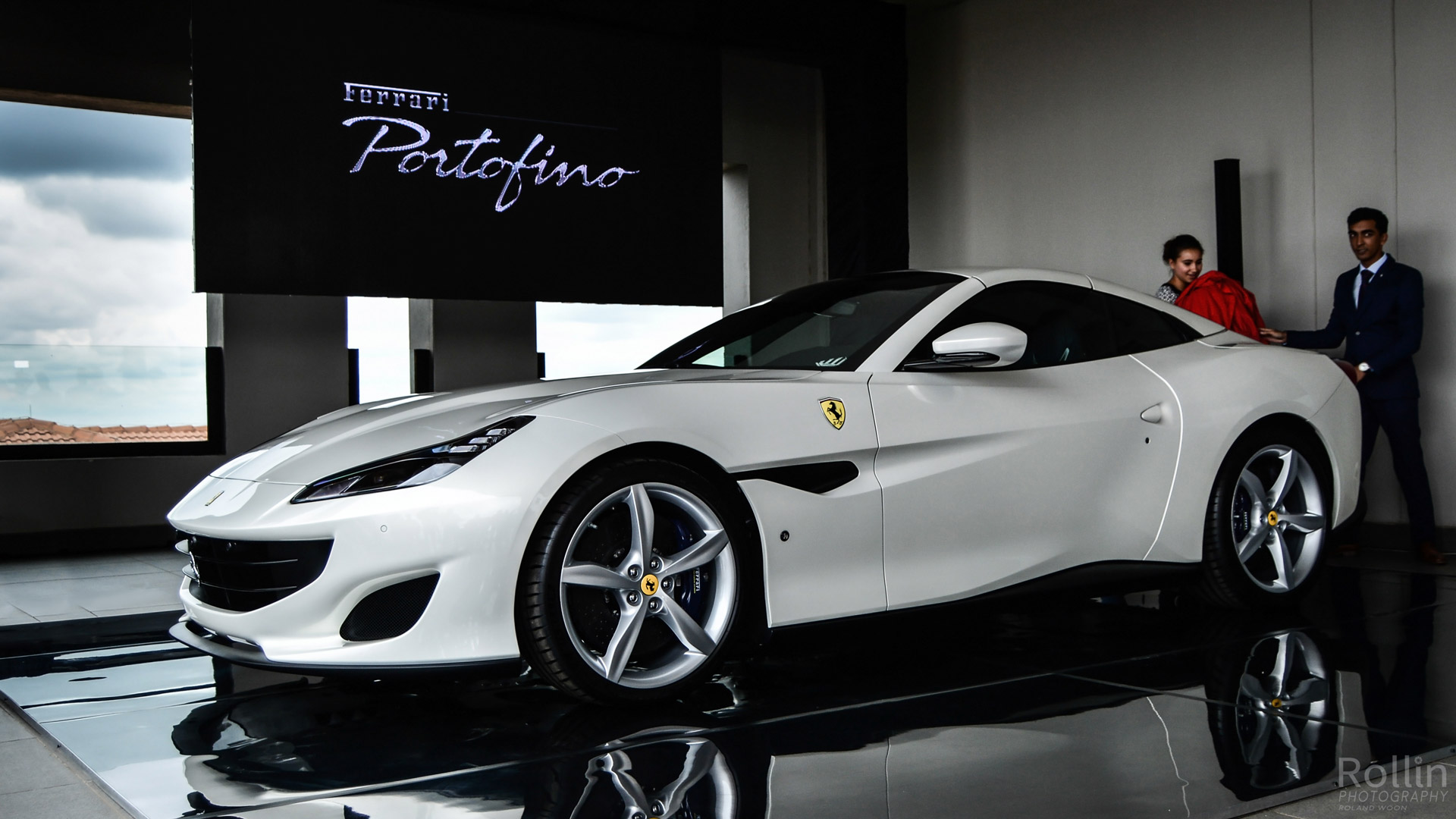 ferrari portofino drops its top in south africa