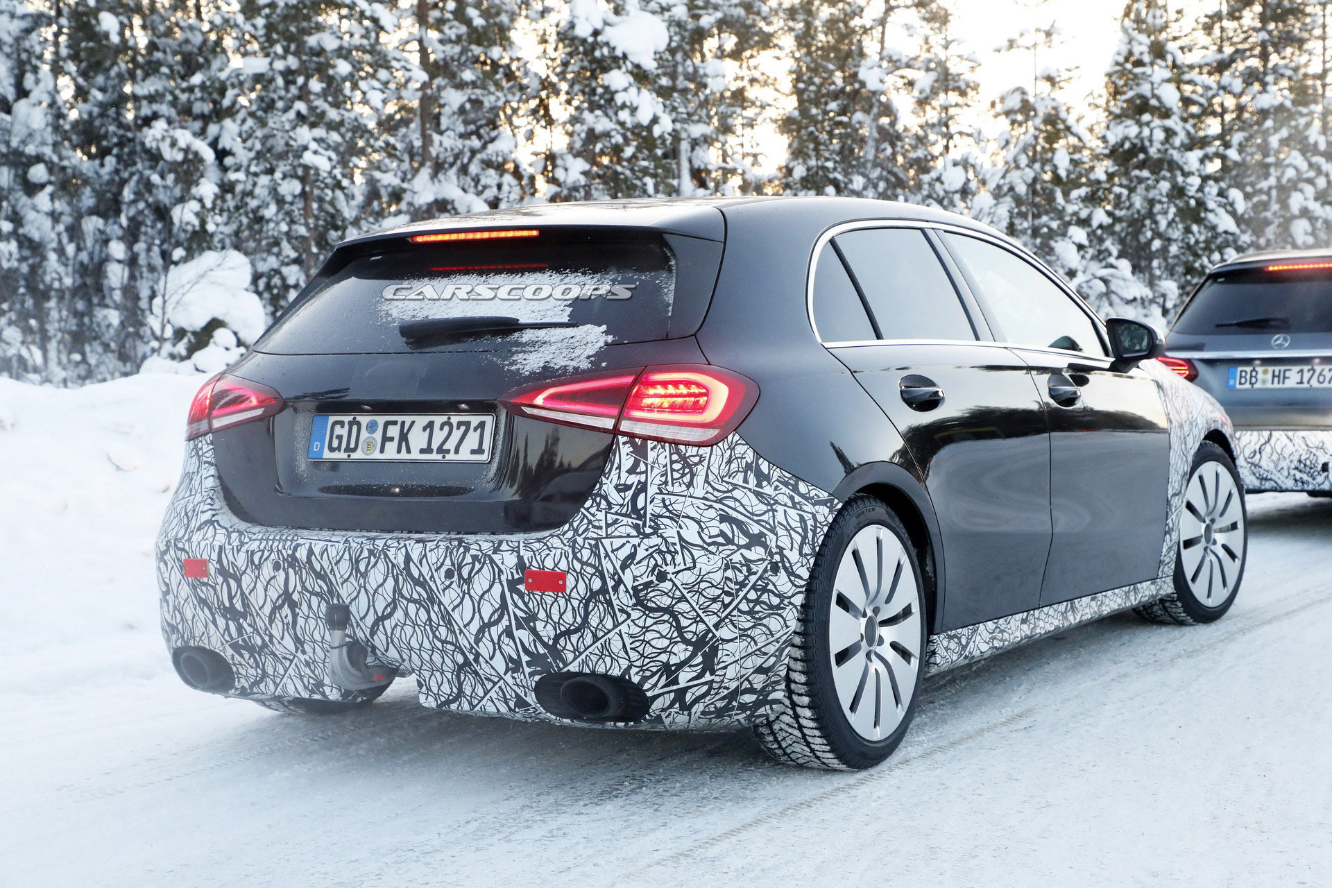 Coupe Vs Sedan >> Mercedes-AMG A35 To Reportedly Get 335 HP Plus Electric ...