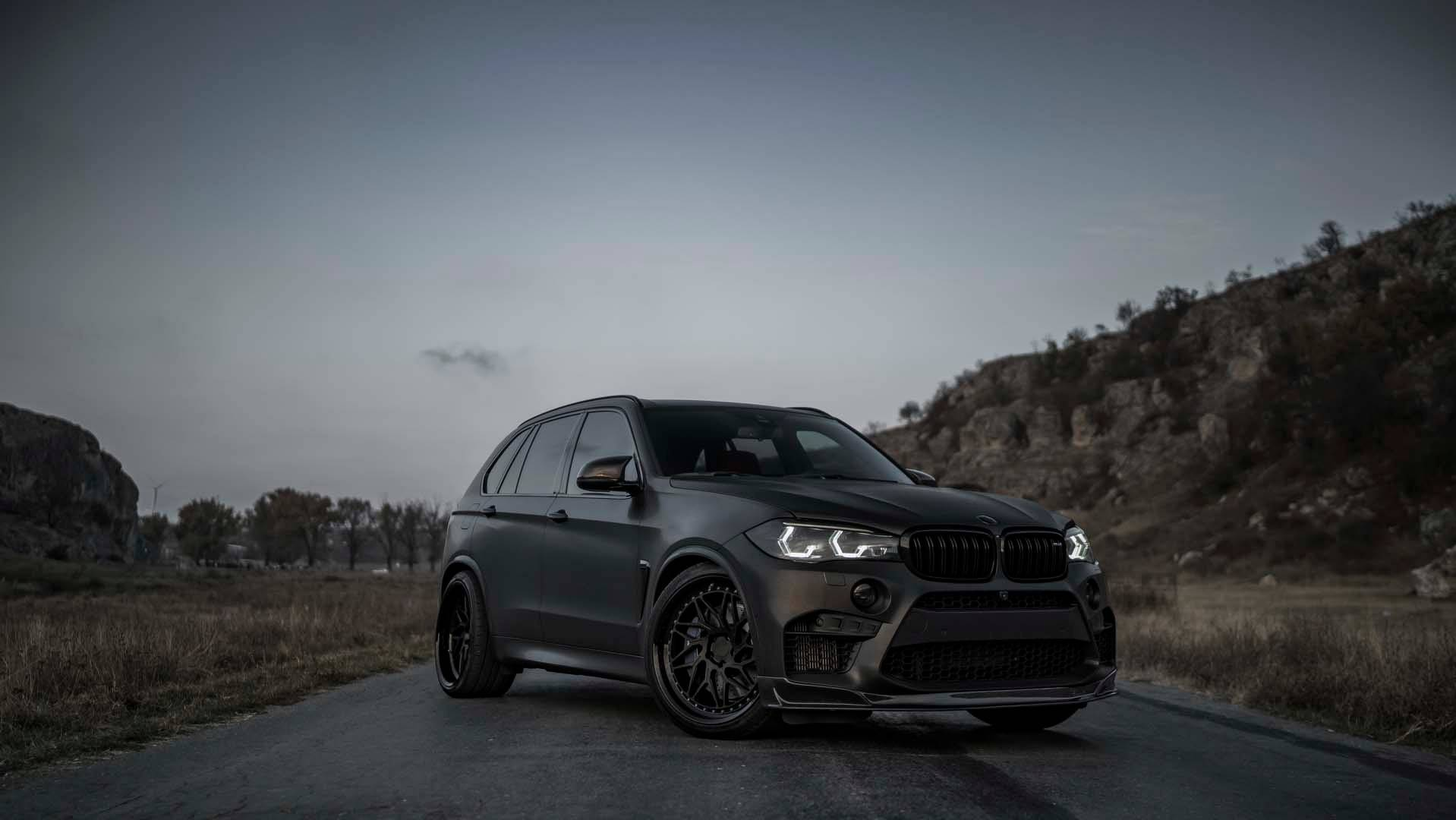 Bmw Aftermarket Parts >> All-Black Z-Performance BMW X5 M Packs 750 HP