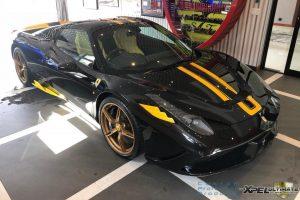 ferrari 458 specialeA aperta black yellow south africa