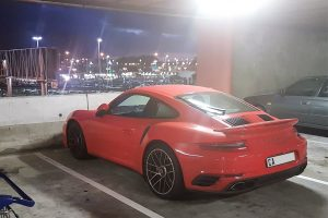 orange porsche 991.2 turbo s south africa